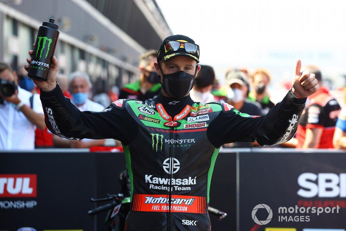 Jonathan Rea, Kawasaki Racing Team WorldSBK takes pole position