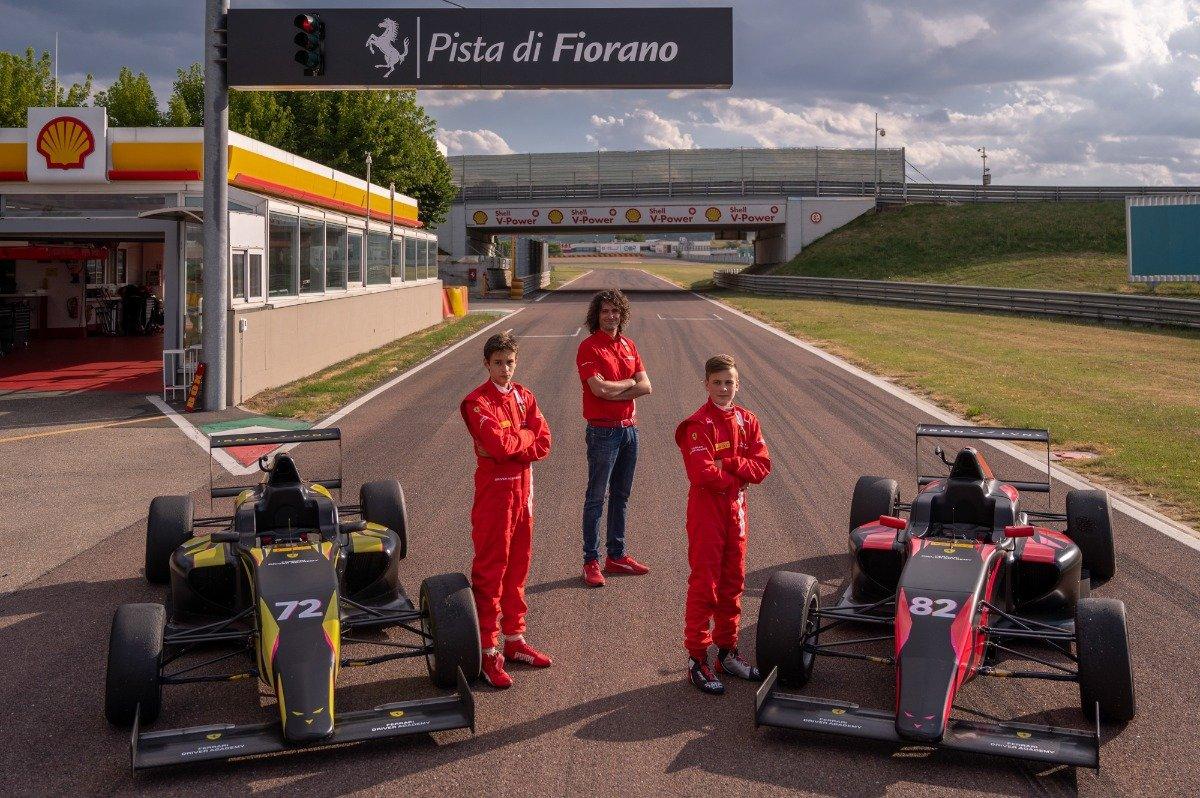 Bruno del Pino, Tuukka Taponen, Ferrari Driver Academy