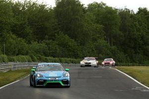 #301 EPS-Rennsport Porsche Cayman 718 GT4 CS: Mark Wallenwein, Henning Deuster, Christian Rosen,