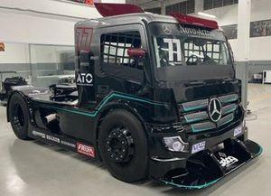 Caminhão da AM MotorSport para temporada de 2021 da Copa Truck