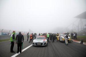 Parrilla de salida en la resalida de las 24h de Nurburgring