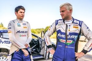 Teemu Suninen, Mikko Markkula, M-Sport Ford WRT Ford Fiesta WRC, Gus Greensmith, Chris Patterson, M-Sport Ford WRT Ford Fiesta WRC
