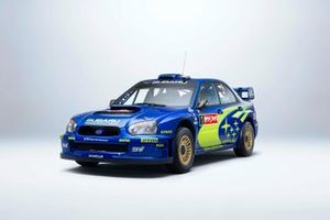 2004 Rally Japan-winning Impreza WRC of Petter Solberg