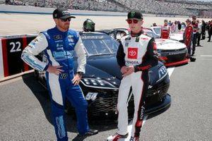 Jeb Burton, Kaulig Racing, Chevrolet Camaro Chevy, Ty Giibs, Joe Gibbs Racing, Toyota Supra Joe Gibbs Racing
