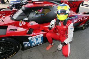 #34 Racing Team Turkey Oreca 07 - Gibson: Logan Sargeant