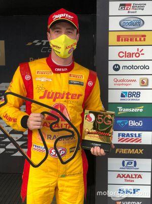 Gabriel Casagrande é o pole position da segunda etapa da Stock Car