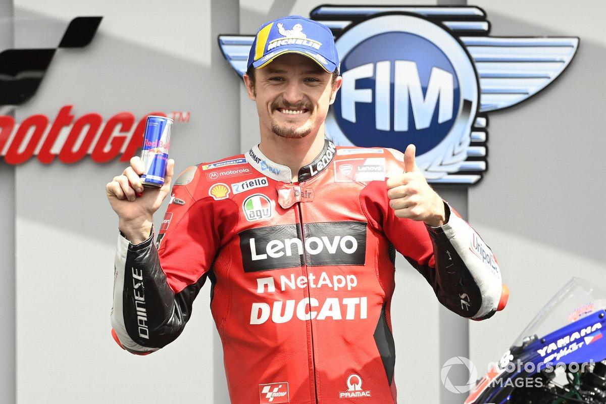 Tercer puesto Jack Miller, Ducati Team