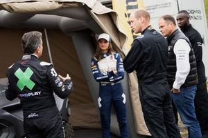 Alejandro Agag, CEO, Extreme E, Catie Munnings, Andretti United Extreme E, HRH Prince William, Duke of Cambridge, e George Imafidon, Co-Founder & CEO, Motivez