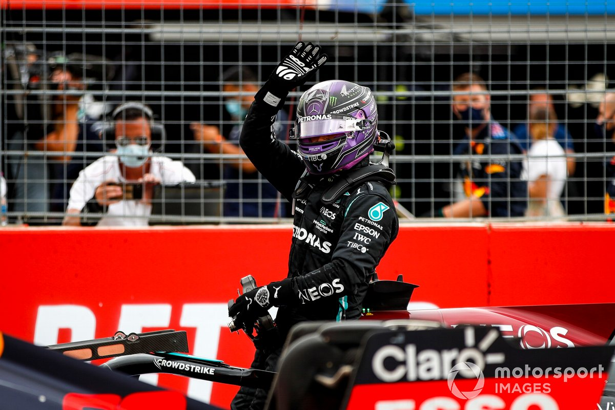 Lewis Hamilton, Mercedes, 2° classificato