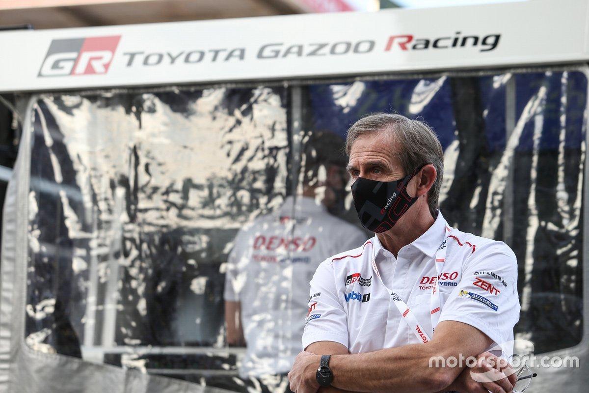 Pascal Vasselon, dyrektor techniczny Toyota Gazoo Racing