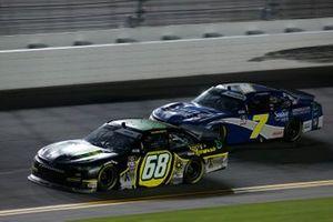 Brandon Brown, Brandonbilt Motorsports, Chevrolet Camaro Original Larry's Hard Lemonade, Justin Allgaier, JR Motorsports, Chevrolet Camaro Suave Men