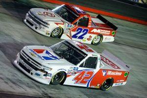Ross Chastain, Niece Motorsports, Chevrolet Silverado, Austin Wayne Self, AM Racing, Chevrolet Silverado GOTEXAN/AM Technical Solutions