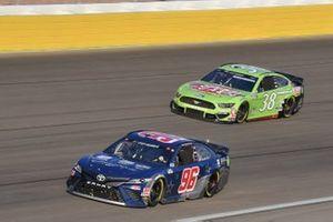 #96: Daniel Suarez, Gaunt Brothers Racing, Toyota Camry Team USA Toyota #38: John H. Nemechek, Front Row Motorsports, Ford Mustang Speedy Cash