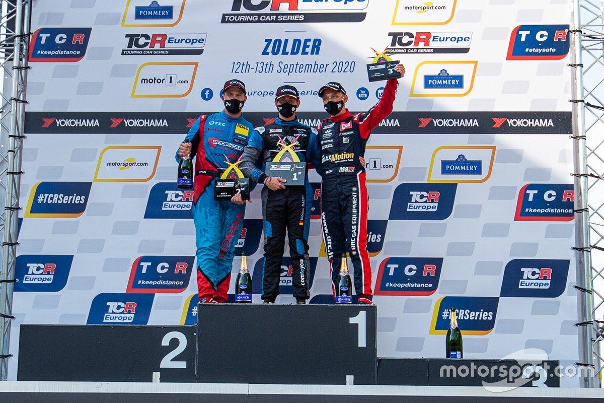 Mike Halder, Proficar Team Halder, Honda Civic Type R TCR, Nicolas Baert, Comtoyou Racing, Audi RS 3 LMS TCR, Mat'o Homola, BRC Racing Team, Hyundai i30 N TCR