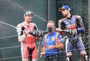 1. Miguel Oliveira, Red Bull KTM Tech 3, 2. Jack Miller, Pramac Racing