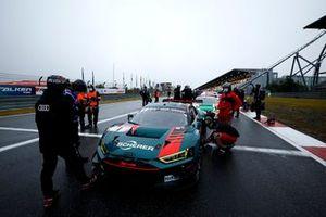 #1 Audi Sport Team Phoenx Audi R8 LMS GT3: Nico Müller, Dries Vanthoor, Frederic Vervisch