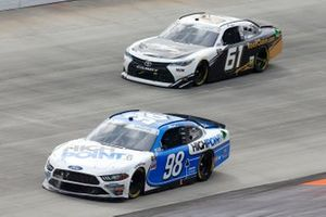 Chase Briscoe, Stewart-Haas Racing, Ford Mustang HighPoint.com ,Stephen Leicht, Hattori Racing Enterprises, Toyota Camry
