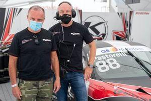 Luca Pastorelli, e Stefano Pezzucchi, Team Manager, Krypton Motorsport