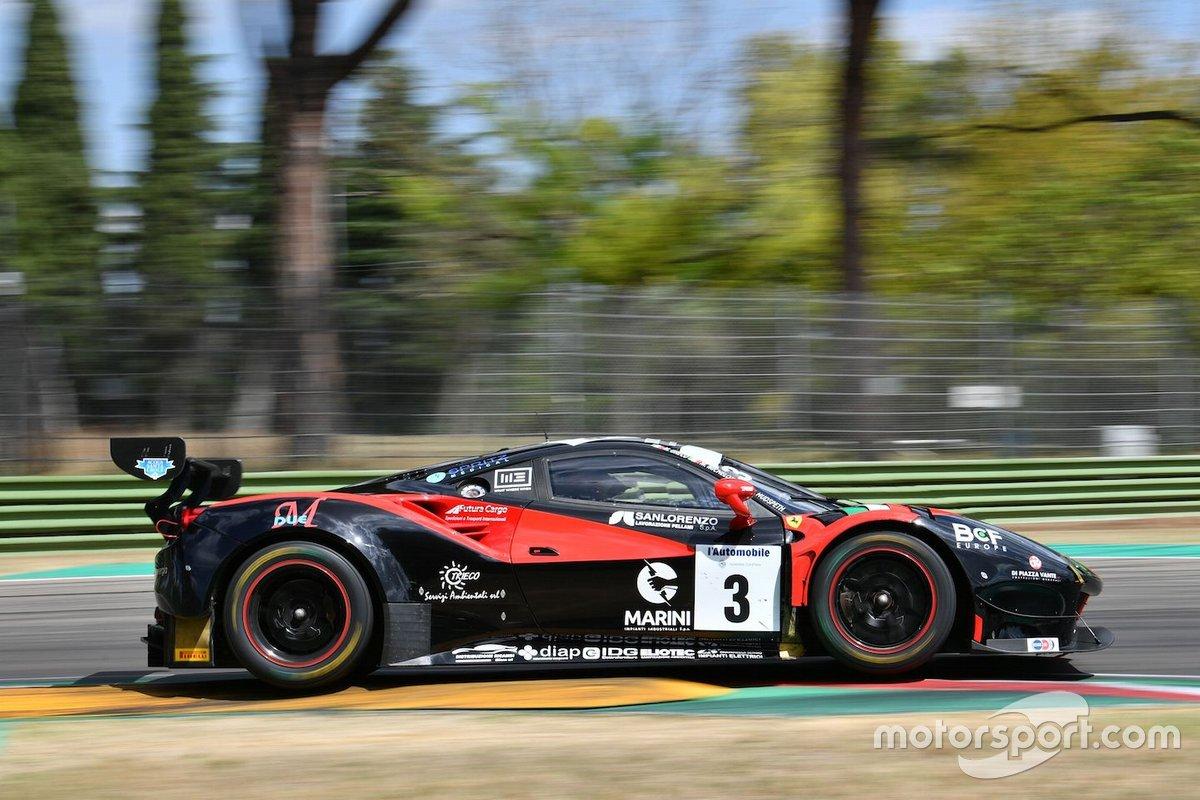 Hudspeth Sean, Michelotto Mattia, Greco Matteo, Ferrari 458 Italia #3, Easy Race