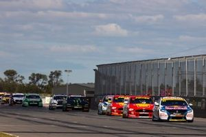 Supercars-Action in Tailem Bend