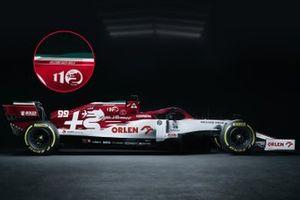 Sonderdesign von Alfa Romeo für den GP Emilia-Romagna 2020 in Imola
