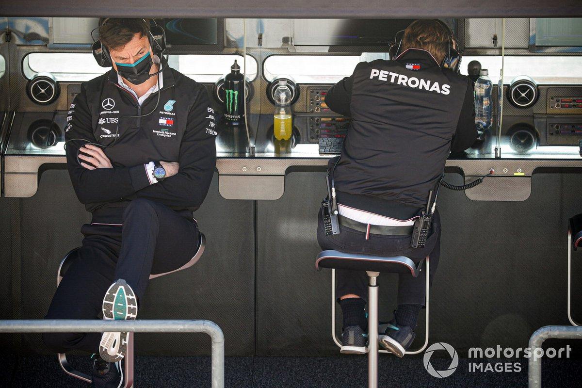 Тото Вольф, Mercedes F1, на командном мостике