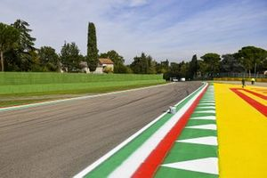 Trackside Kerbs in the national colours