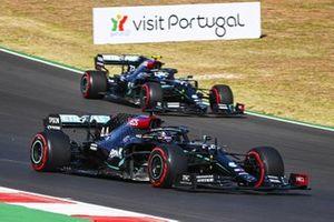 Lewis Hamilton, Mercedes F1 W11 y Valtteri Bottas, Mercedes F1 W11