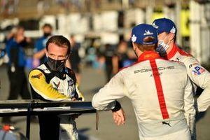 #3 Corvette Racing Corvette C8.R, GTLM: Antonio Garcia, #912 Porsche GT Team Porsche 911 RSR - 19, GTLM: Laurens Vanthoor, Earl Bamber