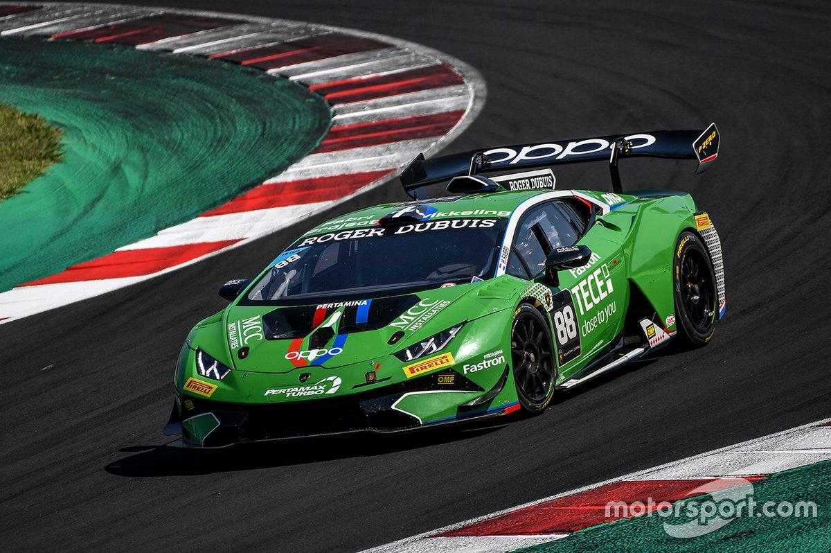 Luca del Grosso, Team Manager di Imperiale Racing, fa correre una Lamborghini Huracan nel GT