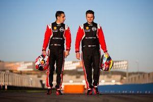 Sebastien Buemi and Oliver Rowland, Nissan e.Dams