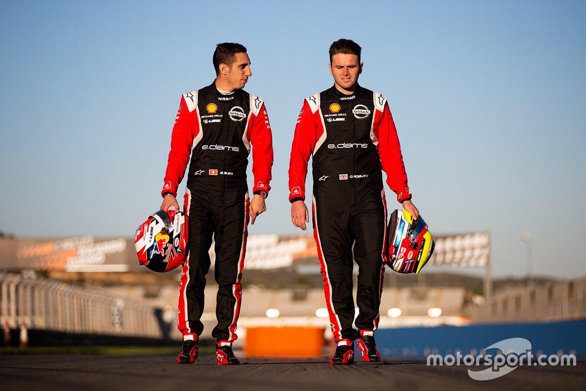 Sebastien Buemi Y Oliver Rowland, Nissan e.Dams