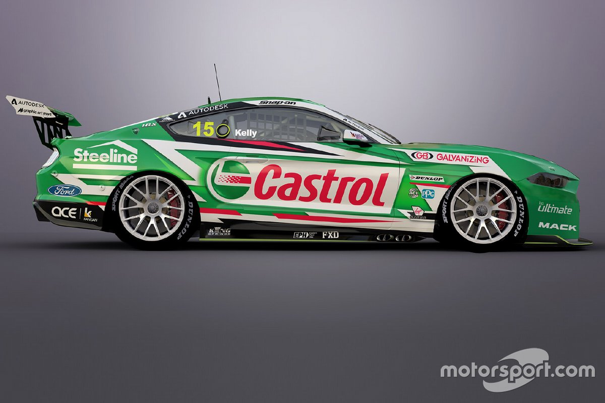 Ford Mustang of Rick Kelly, Kelly Racing