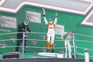 Podium: Race winner Larry ten Voorde, Team GP Elite
