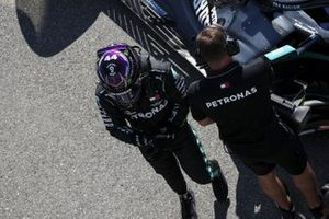 Pole man Lewis Hamilton, Mercedes-AMG F1