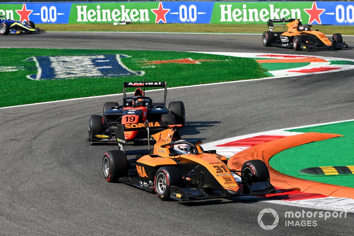 Sophia Floersch, Campos Racing e Lukas Dunner, MP Motorsport