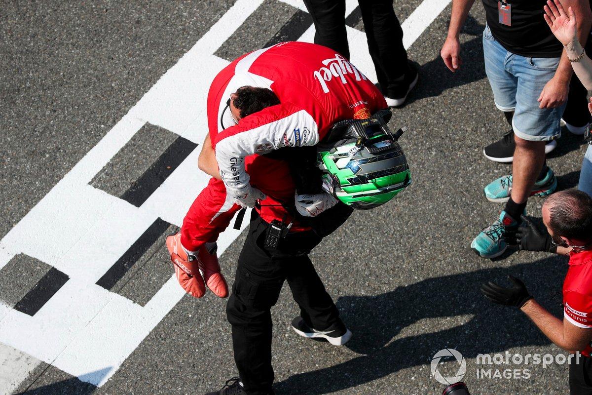 El ganador: Frederik Vesti, Prema Racing