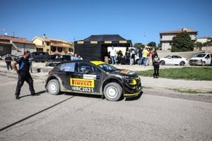 La Citroen C3 WRC, del Sainteloc Junior Team, utilizzata per lo shakedown