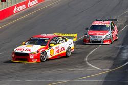 Fabian Coulthard, Team Penske Ford and Rick Kelly, Nissan Motorsports