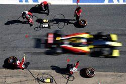Antonio Giovinazzi, Prema Powerteam, effettua un pit stop