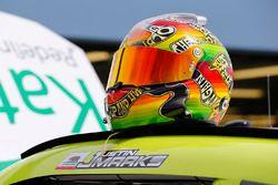 Helmet of Justin Marks, Chip Ganassi Racing Chevrolet