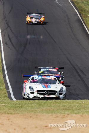 #33 Mishumotors Mercedes SLS AMG GT3 : Mirco Schultis, Renger van der Zande, Patrick Simon, Alex Kapadia