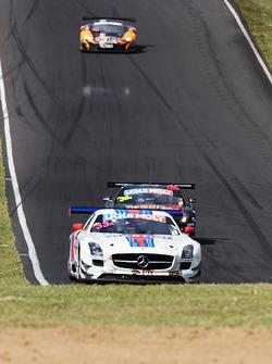 #33 Mishumotors Mercedes SLS AMG GT3: Mirco Schultis, Renger van der Zande, Patrick Simon, Alex Kapa