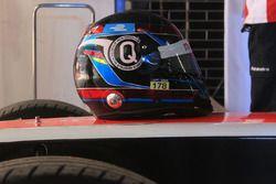 Casco de Nick Heidfeld, Mahindra Racing