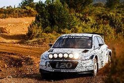 Kevin Abbring e Sebastian Marshall, Hyundai i20 R5 WRC, Hyundai Motorsport