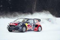 Timmy Hansen et Sébastien Loeb