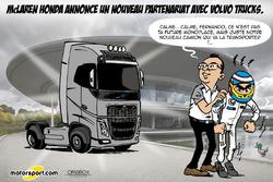 L'humeur de Cirebox - McLaren change... de camions
