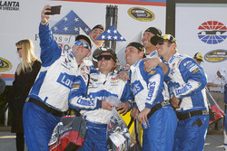 Hendrick Motorsports team members celebrate