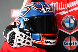 Casco de Joshua Brookes, Milwaukee BMW