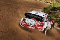 Stéphane Lefebvre, Gabin Moreau, Citroën DS3 WRC, Abu Dhabi World Rally Team
